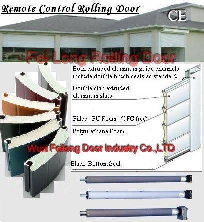 Rolling Door --- Both Insulated \u0026 Non-insulated Slats Available - Buy Roller DoorRolling DoorsRolling/roller/roll Up Garage Door Product on Alibaba.com