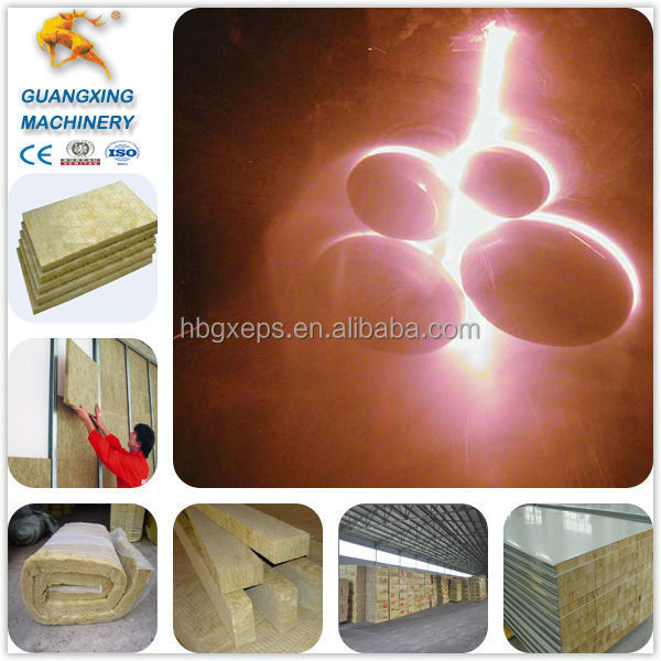Guangxing Machinery Widely Used Rockwool Equipment for Rock /Mineral/Slag/Stone Wool Board and Roll Production