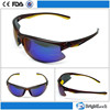 2015 Fashionable Half frame plastic with polarized lens for men sports sunglasses china