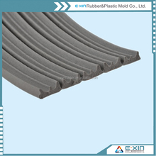 produce various EPDM sponge foam D P shape self-adhesive rubber seal strip for door and window