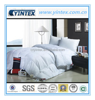 Wholesale Bedding Set Cotton Downproof Fabric White Down Comforter