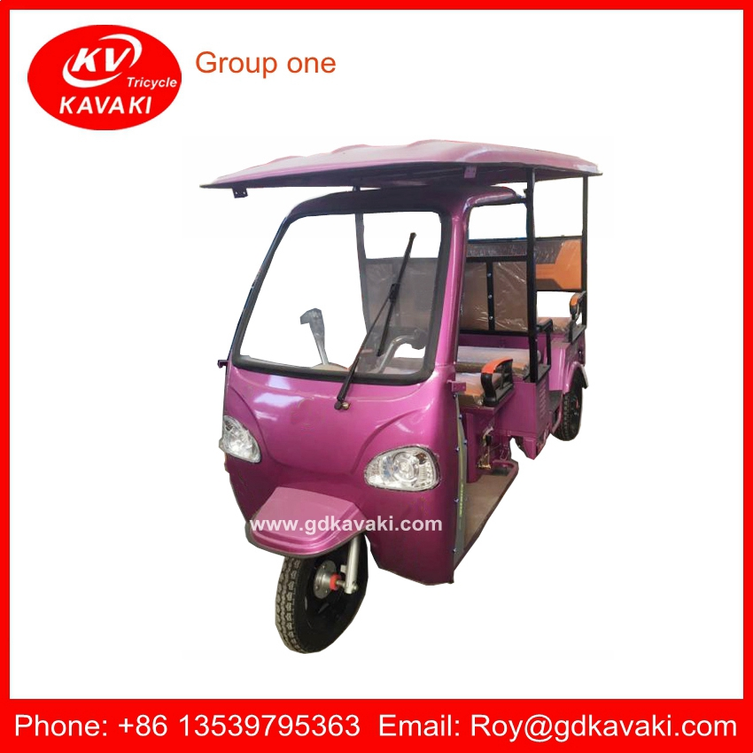 Make In China Speed 25km/h 48v800w Eco Friendly Electric Rickshaw For India