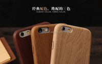 FL3728 magic mobile phone cases manufacturer slim wood line pc pu soft back cover case for iphone 6/6s