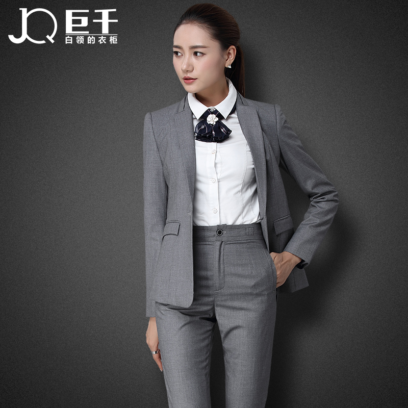 2016 Fashion Custom Make Ladies Tuxedo Pant Suit Design for Woman