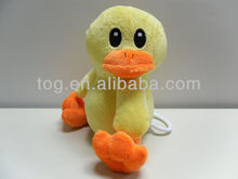 Plush Lovely Music Duck with pull line