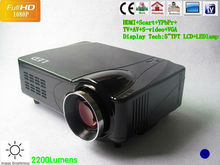 Portable Digital projector HD led projector tv tuner projector HDMI