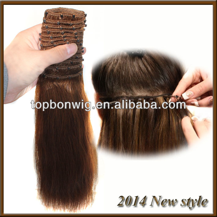 Real Brazilian Human Virgin Hair micro ring Weft