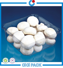 Supermarket Retail Disposable Punnets Packing Mushroom, Mushroom Plastic Punnet Packaging, Cheap Punnet Package For Mushroom