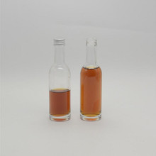50ml 100ml small liquor glass bottle wine glass bottle alcohol glass bottle