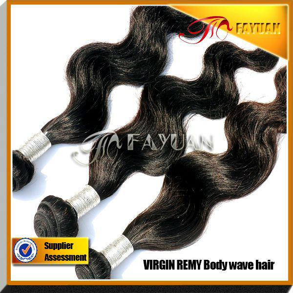 cheap human hair Double Strong Wefts Body Wave Virgin Brazilian Hair Extension