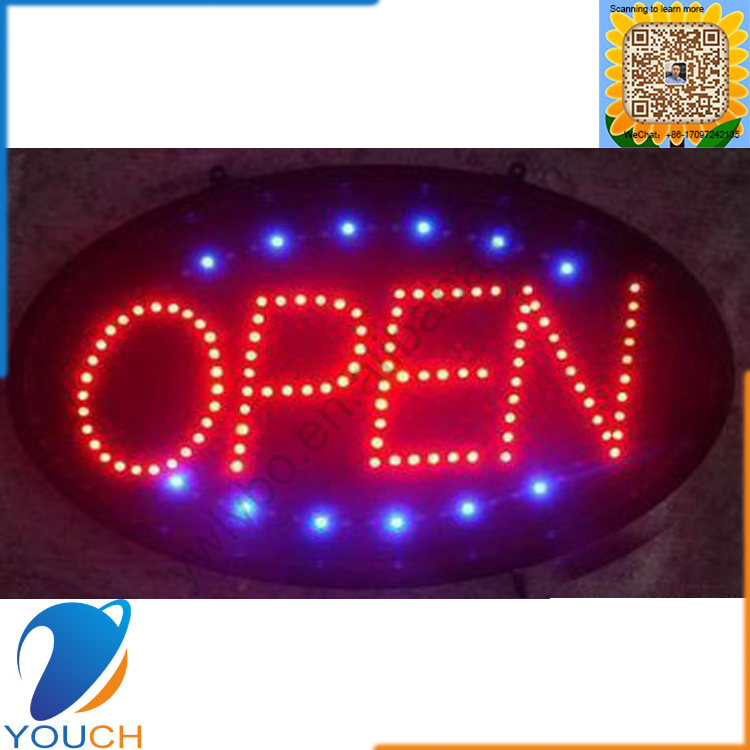 High brightness colourfull led rolling advertising board for promotion