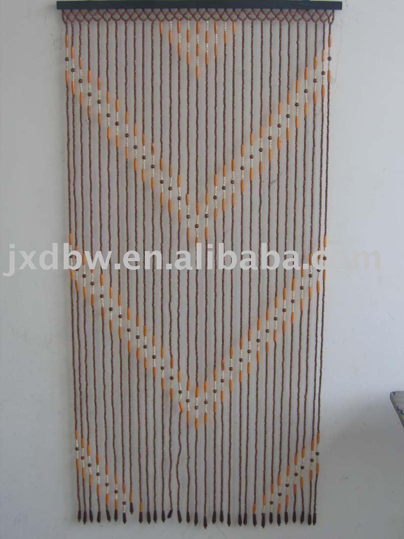 Cheap Hanging Door Beads Diamond Design Wooden Beaded Door Curtains   Buy  Wood Beaded Door Curtain,Cheap Hanging Door Beads Curtain,Diamond Design  Wood ...
