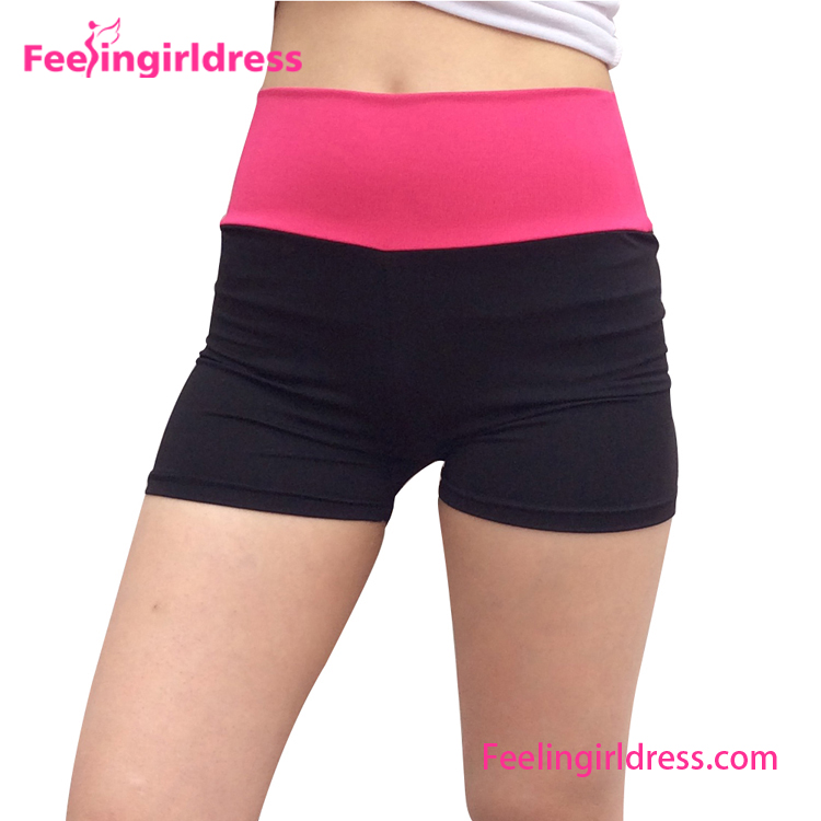 Women Short Running Training High Waist Custom Yoga Pants