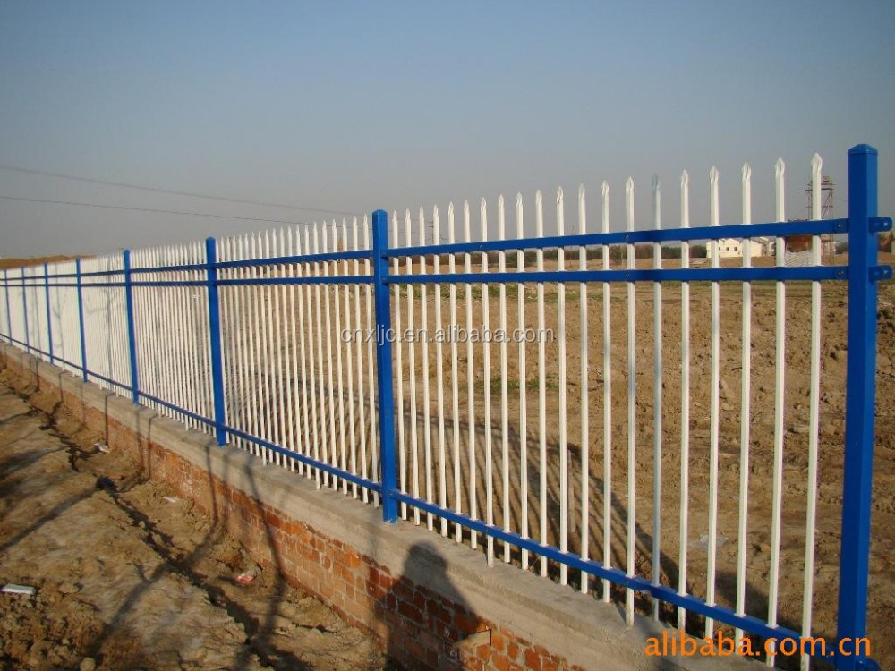 zinc steel fence,Color barrier,ORNAMENTAL FENCE