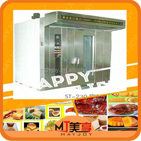 More durable with strong wind convection Hot air rotary mini gas oven