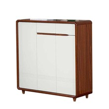 Wooden large shoe cabinet for Living room furniture