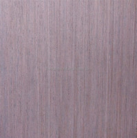 hot sale artificial wenge timber face veneer for furniture decoration