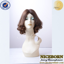 wholesale human virgin cuticles European hair kosher wigs jewish wig topper