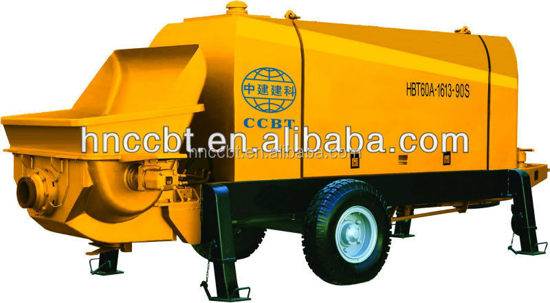 best price concrete pumping machine with electrical motor