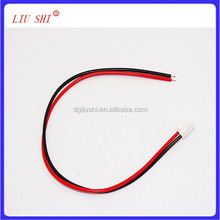 high quality 2pin JST VHR connector wire harness, one head immersion tin