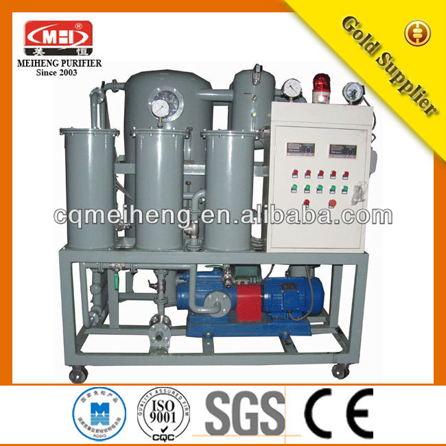 ZLA Used Transformer Oil Filtration Plants pusher centrifuge water purification