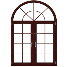Aluminium windows and doors double glass casement window