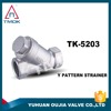 oxidation-resisting steel y filter valve ce certification yuhuan sanitary made in China factory online shopping