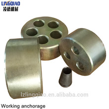 Anchor head anchor Plate grips precast production for Sale