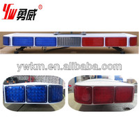 used lights police car equipment emergency traffic light bar with LED source for ambulance cars red/ blue /amber /orange