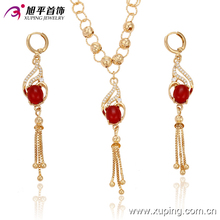 Latest Arrival Xuping Fashion Jewelry18k Gold Plated Jewelry Sets