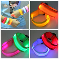 LED Bracelet, led flashing bracelet,sound led bracelet,sound activated led circuit
