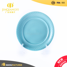 Hot selling Promotional colored ceramic dishes for restaurant