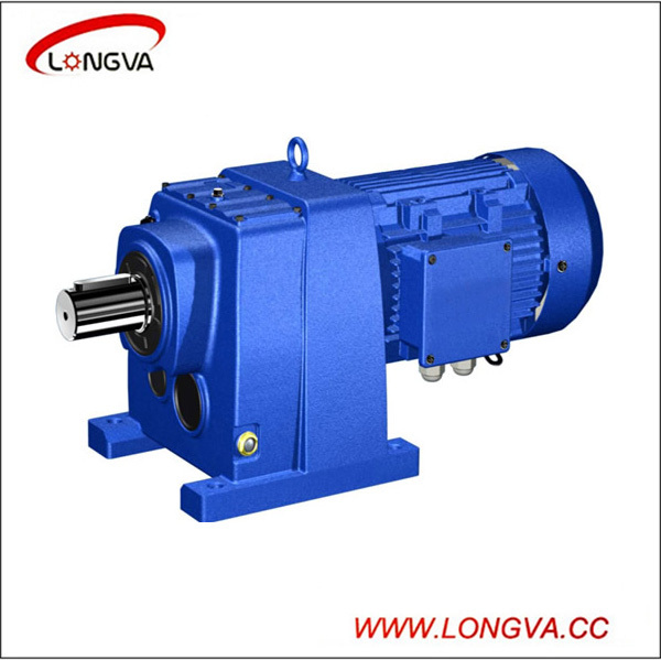 R series helical geared motor/speed reducer