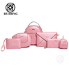2016 handbag Newly designed Line Bag six bags in one set women dinner bag wholesale ladies totes handbags