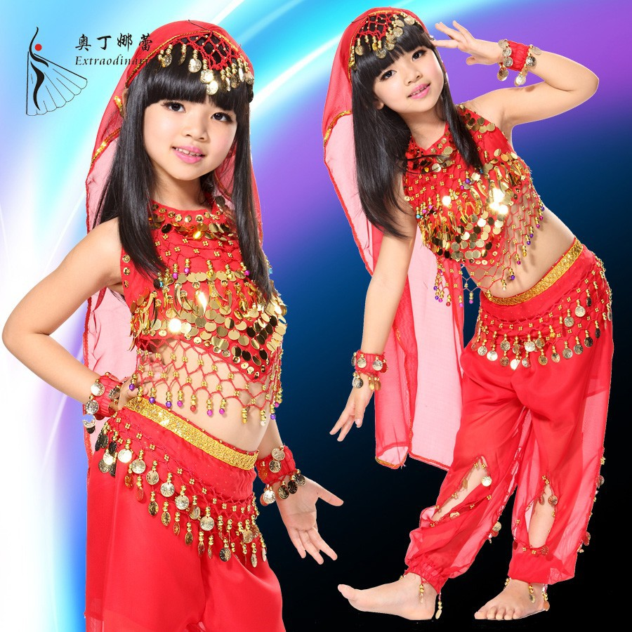 children ballroom dance wear belly dance costumes for kids competition