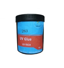 LO-TECH 263 Polyurethane resin UV curing adhesive