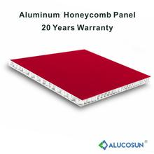 Exterior insulated aluminum honeycomb panel