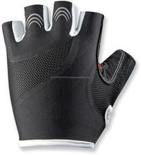 Professional customize cycle gloves leather palm cycling gloves with GEL pad