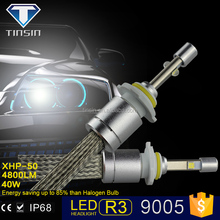 new products 2015 innovative product accessories head lamp, CE IP68 RoHS 9005 h1 h3 h11 R3 led headlight for toyota fielder