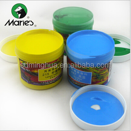250ml fine quality Marie's acrylic paint for artist at competitive price