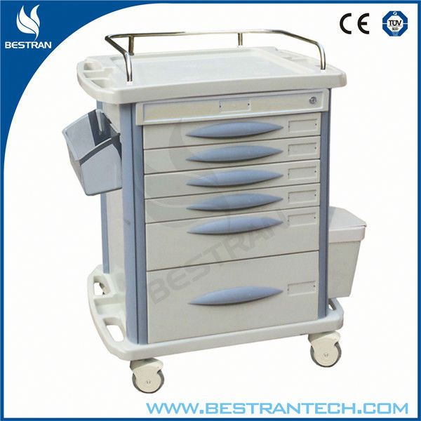 China BT-MY003 Hospital cheap medicine distribution cart, computer trolley design