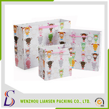 LS-PBG009 hot sale custom printed Packaging gift paperBag