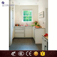 china professional factory self assemble full kichen cabinets sets for small apartment