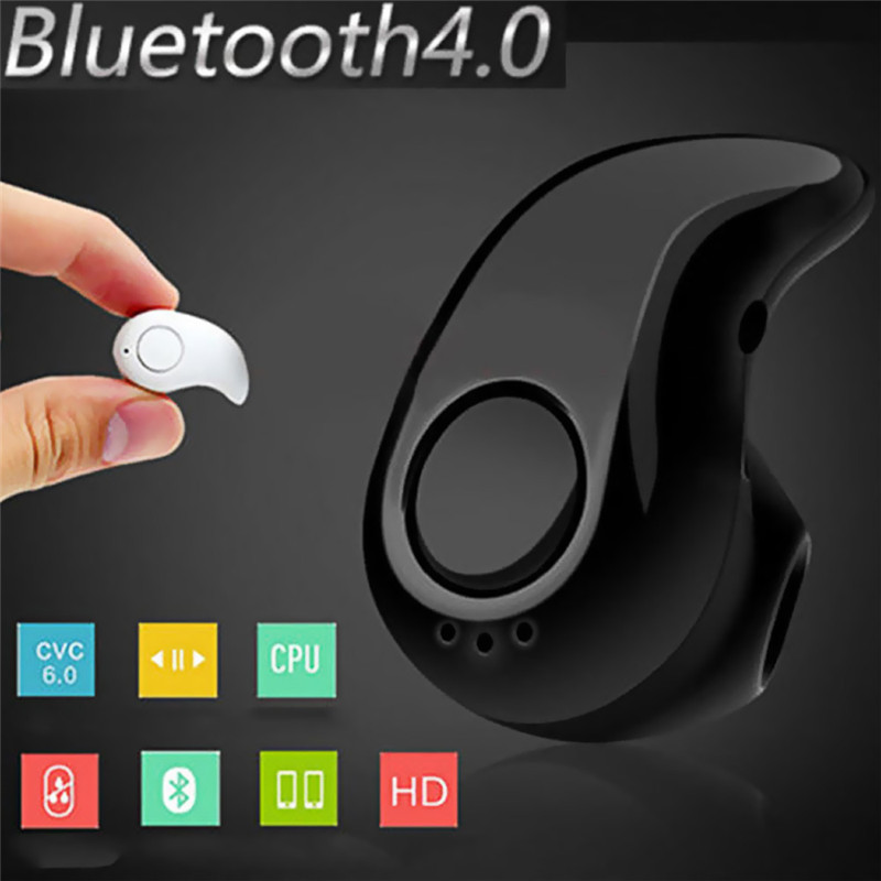S530 Mini Wireless Bluetooth Earphone in Ear Sport with Mic Handsfree Headset Earbuds for All Phone