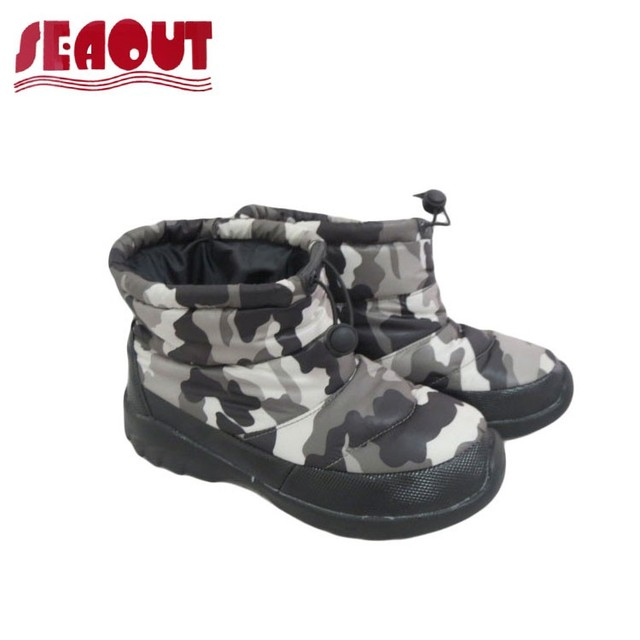 2017 Warm Comfortable camouflage color winter boots for children