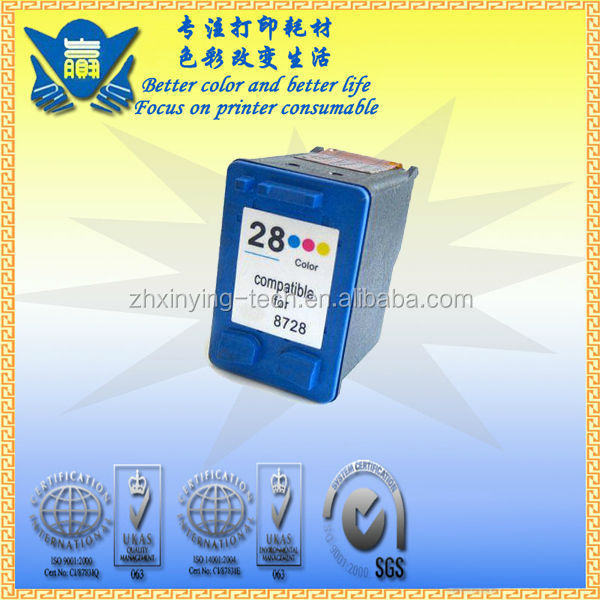 C8728A Original quality parra for hp 28 ink cartridge