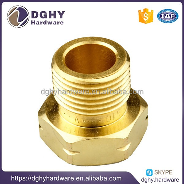 Professional Maker economic brass cnc turned part