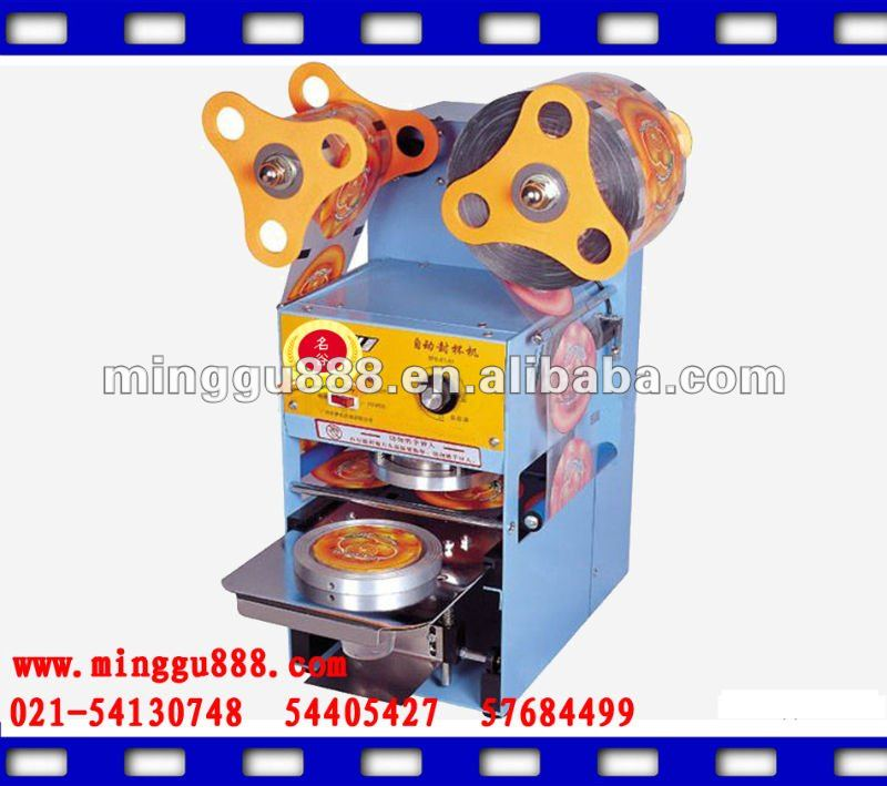 Automatic Desktop Plastic Cup Sealing Machine(manufacturer&ISO9001)