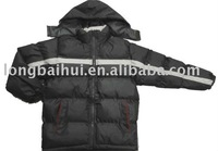 Winter padded college jacket for children