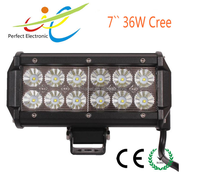 7inch 36W dual row offroad LED light bar